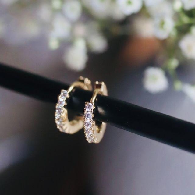 Earrings Crystal Medium